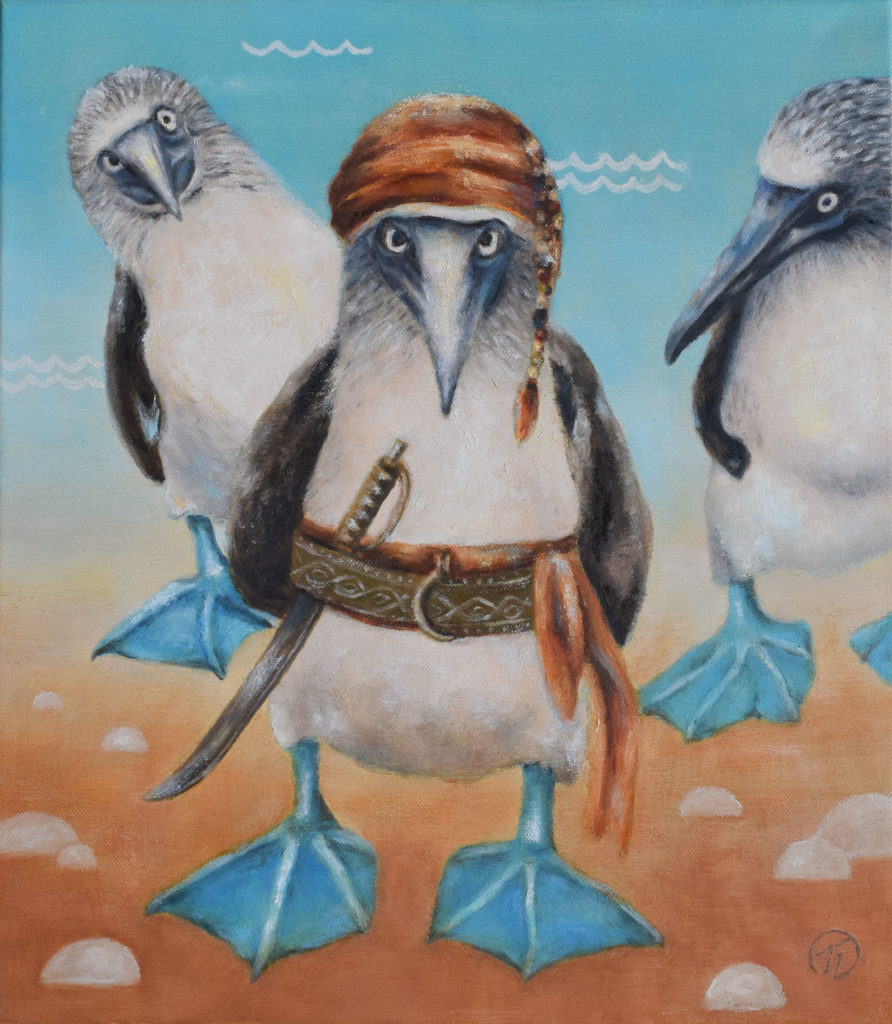 Pirate of the Galapagos